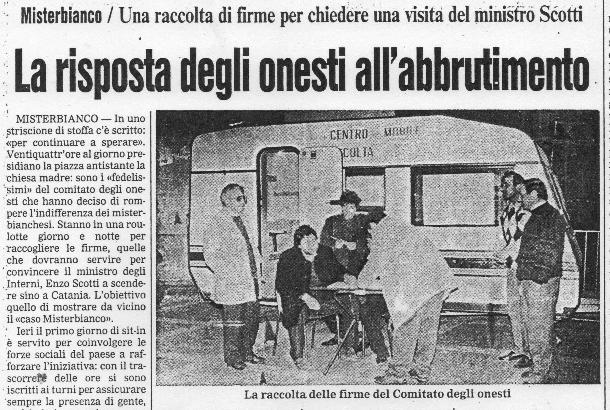 venticinque anni fa iniziava l'impegno antimafia